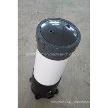 Caixa de filtro de plástico para filtro de cartucho para tratamento de água