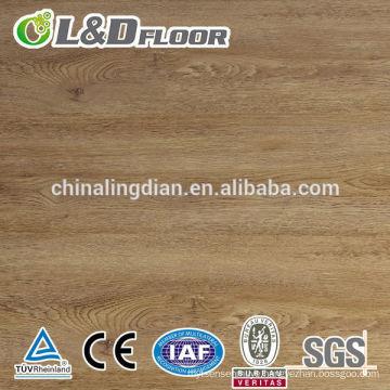 High Quality German Technology12.3mm Unilin Click 100% Waterproof Wooden HDF Distressed Finish Vintage Oak Laminate Flooring