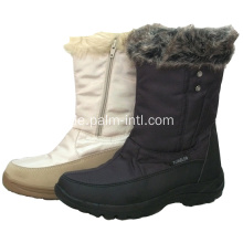 Warm Pelz Collor Winter Schuhe