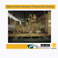 Desarrollado por Cummins generadores marinos diesel 600kw / 750kva