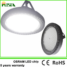 5 años de garantía 120W Industrial Round LED High Bay Light