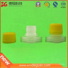 15mm novo design plástico saco de embalagem bico