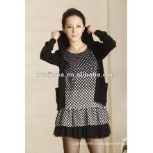 мода дамы кашемир свитер платья