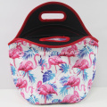 Flamingo printing resealable safe lunch bags