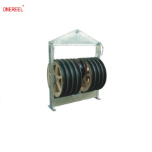 Cable pulley block