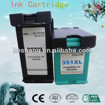 good quality replacement cartridge for hp 350 351 ink cartridge for HP 4380 4480 4580 4270 printer Guangzhou factory