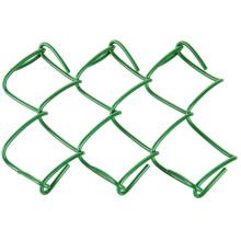 Paneles de valla de eslabones de cadena de plástico de calibre 9 6x10