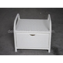 Aluminum Multi Functional Rattan Outdoor Storage Box