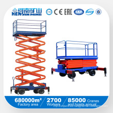 China Minas Plataformas Flexibles y Ajustable