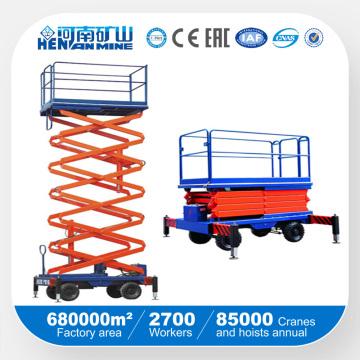Подвижная подъемная платформа подъемно-транспортного подъемника