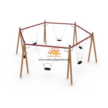Swings For Playground Equipment With Swings Set