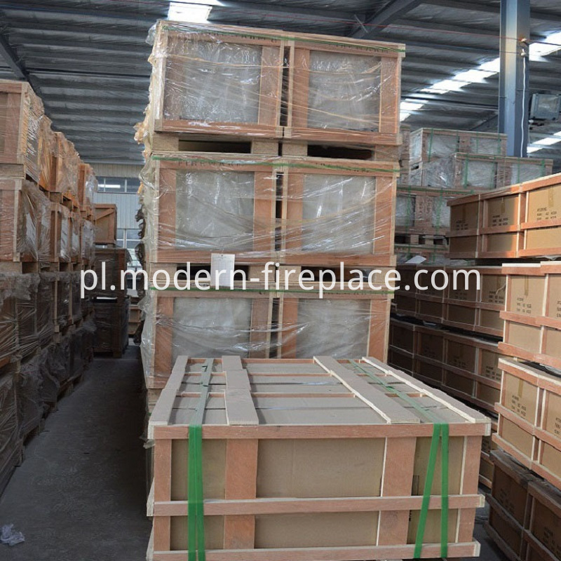 Factories Packaging Large Wood Burning Stoves