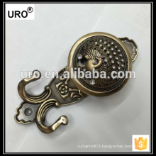 yiwu brass curtain tieback for home decor
