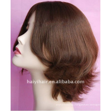 100% Virgin Silk Top Natural Jewish Wigs