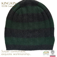 KS-139 Winter 100% Cashmere Men Hat, Knitted Beanie, wool cashmere hats