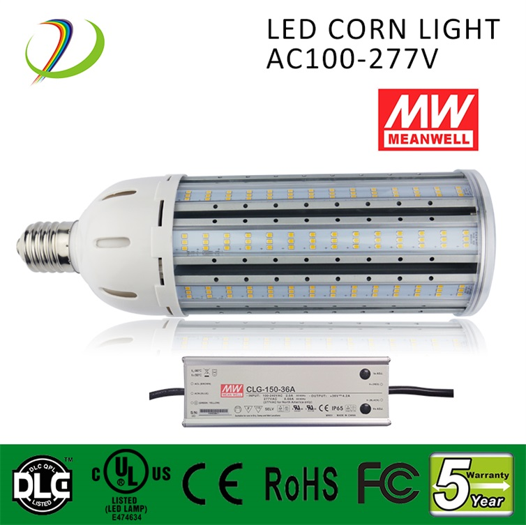4320lm 50000HRS 36w led corn light