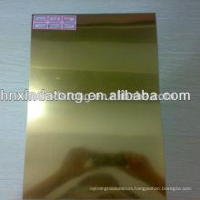 gold Mirror aluminum coil supplier