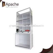 Good service magic mirror acrylic cosmetic display stand