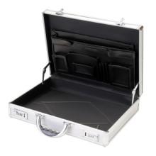 Porte-documents en aluminium Aluminium Attache Case Housse en aluminium pour ordinateur portable