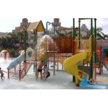 Childrens Fun Play Slides Aqua Tower Water Playground Equip