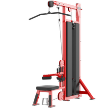 Commercial Gym Equipment Pin Load Fitness Equipment Hammer Dual Pulldown-Row Machine