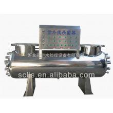 Esterilizador UV de grande fluxo