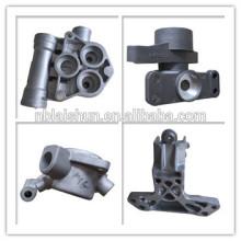 Fabricante de fábrica de China piezas de cuerpo de aluminio de encargo de las piezas mueren el bastidor
