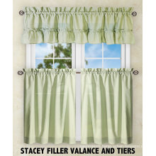 100% Polyester Kitchen Curtains Sets
