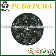 Schwarzer Lötlack Aluminium PCB für Led Board