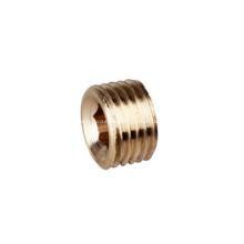 Racores de juntas de latón con conectores de cobre