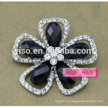 Fábrica de broches de flores de moda mais vendidos