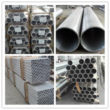 1060 Aluminium Silberrohr Baumaterial