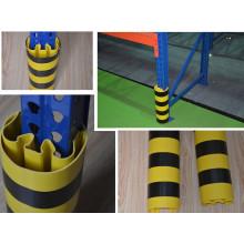 Sistema de bastidor de almacén para guardias verticales