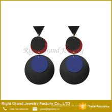 Einzigartiges Material für den Ohrring, der Acryltropfenauge gemachte Ohrring-Art- und Weisekorea-Ohrring-Großhandel Schmucksachen herstellt