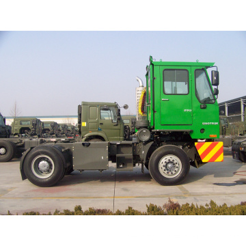 Sinotruck 4*2 HOWO Tractor Truck with Hydraulics Axle