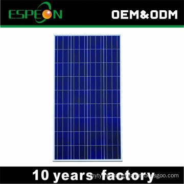 100W 18V poly solar panel MC4 15diode A grade cells high efficiency for home use