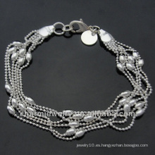 Pulsera de plata esterlina Pulseras baratos 925 joyas de plata BSS-009