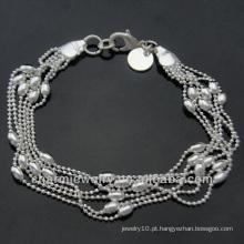Bracelete Feminino Pulseiras De Prata Esterlina Baratos 925 Jóias De Prata BSS-009