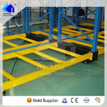 China manufacturing seismic level secure folding storage shelf
