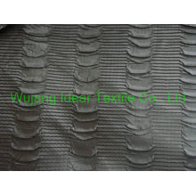 Embossed satin Fabric