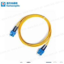 Fiber Optic Patch Cord with Sc Duplex Connectors