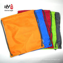 Mochila de cordão não tecido reutilizável de alta qualidade