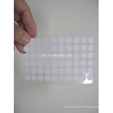 Runde wasserempfindliche Klebeetiketten oder Papierbogen-Handy-Etiketten / Aufkleber