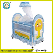 Ce approved european and australia type popular compact cot