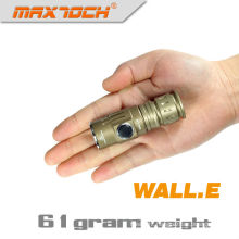 Maxtoch WALL.E 450 Lumens 16340 Li-ion Mini LED Flashlight Keychain