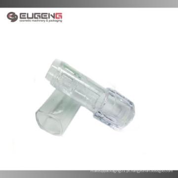 Recipiente transparente quadrado para bálsamo para os lábios atacado