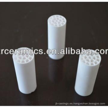 Elemento calentador de cerámica de alúmina aislante