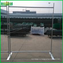 Временный забор временного ограждения из металлического ограждения