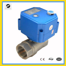 Válvula de bola proporcional eléctrica CWX-25s Autocontrol DN15 DN20 DN25 DN32 para sistema de irrigación de agua