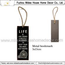 Factory Custom Metal Lesezeichen für Geschenk